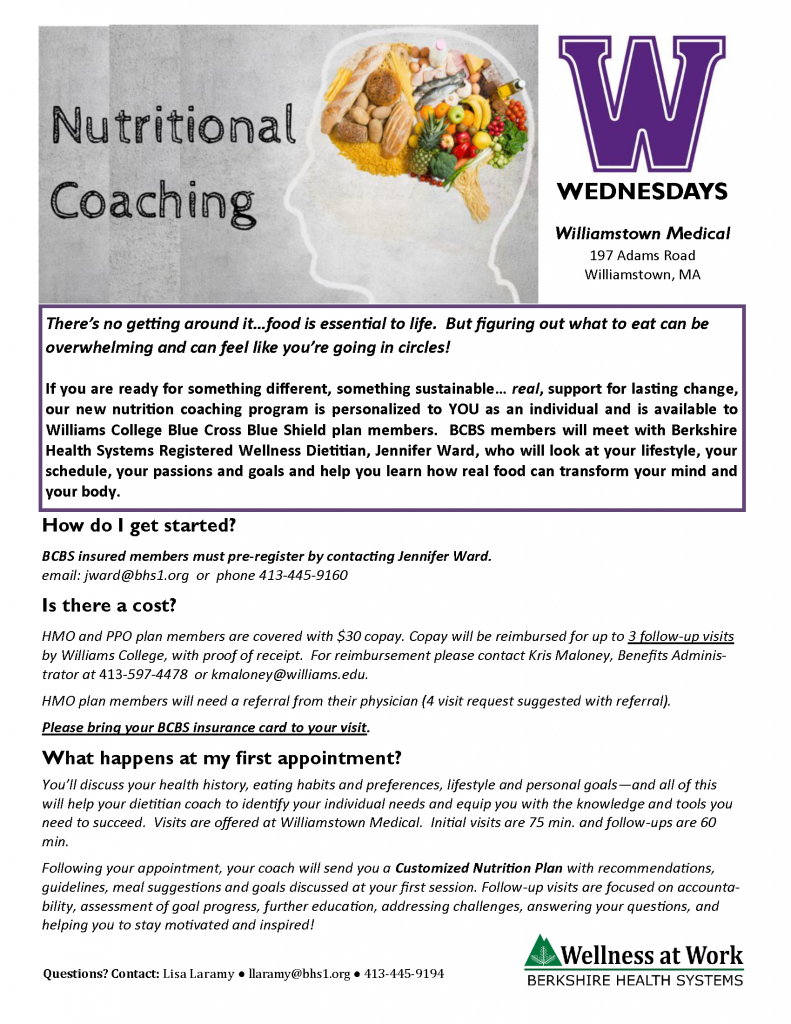 Nutritional Coaching Benefit